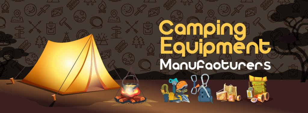 camping equipment manufacturers