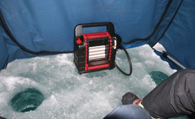 Ice Fishing Heater