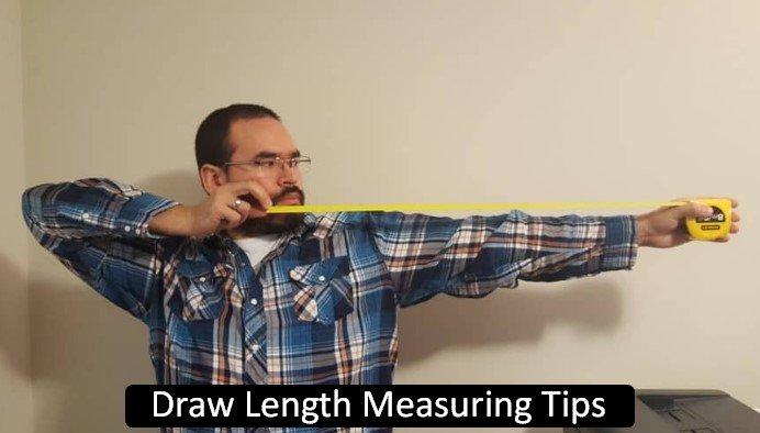 Draw Length Measuring Tips