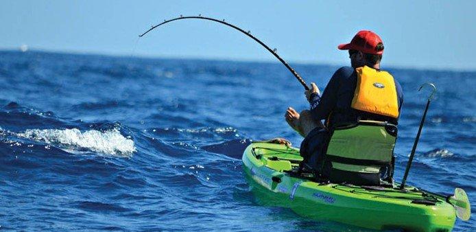 Sit-On-Top Fishing Kayak