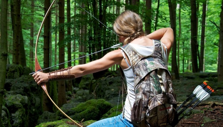 Why would strength exercises help with archery