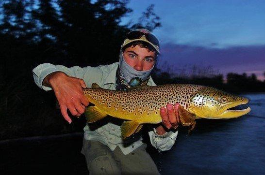 Fly Fishing In Dark
