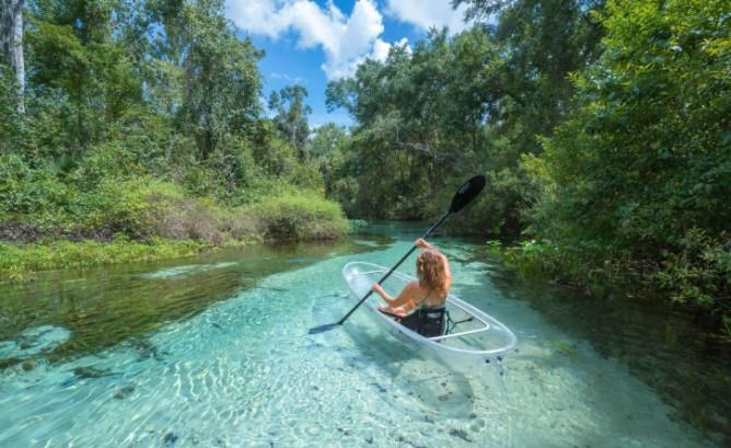 Canoe In Florida