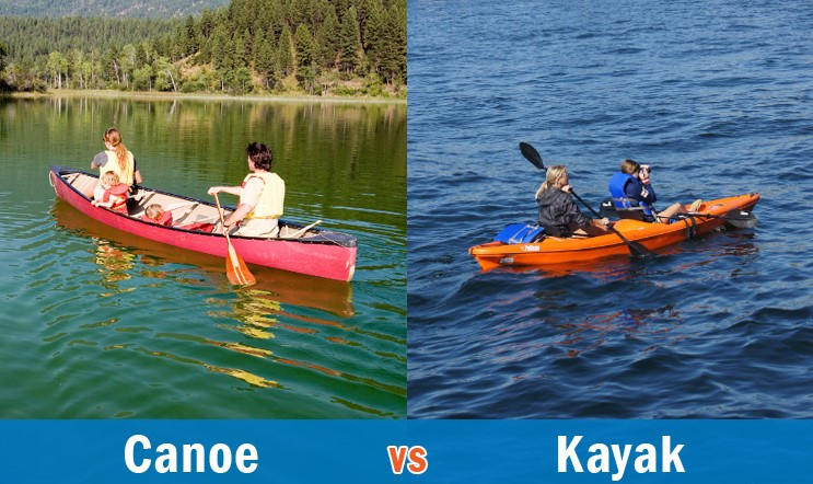 Kayaking Vs. Canoeing