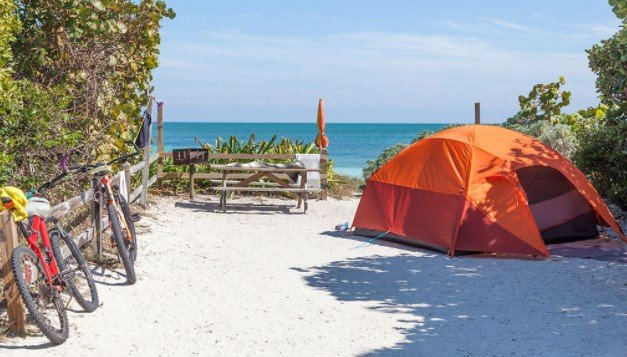 best beach towns for camping