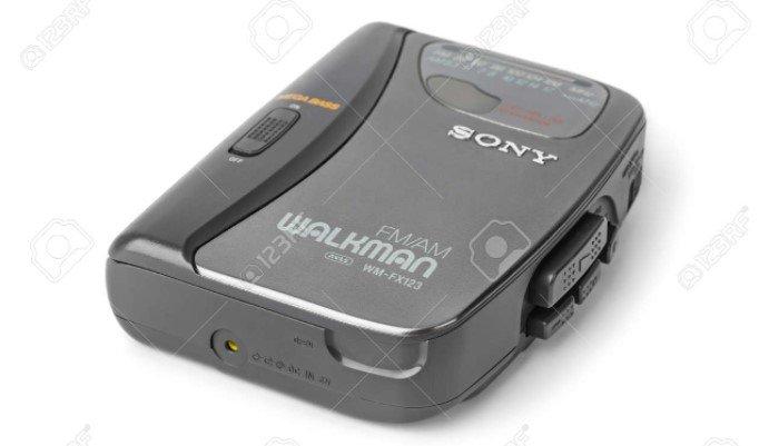 Blasting Music on Your Walkman