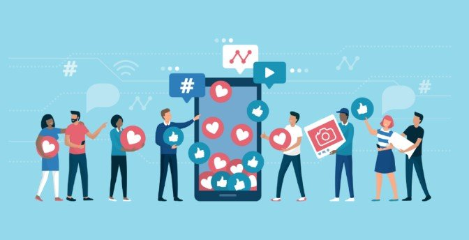 Engage in Social Media