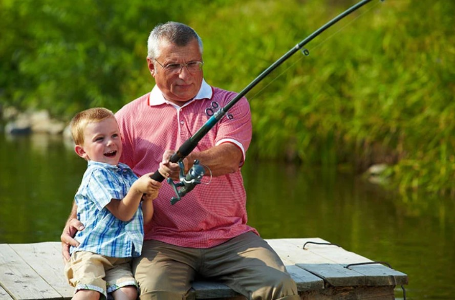 Fishing With Kids for the First Time