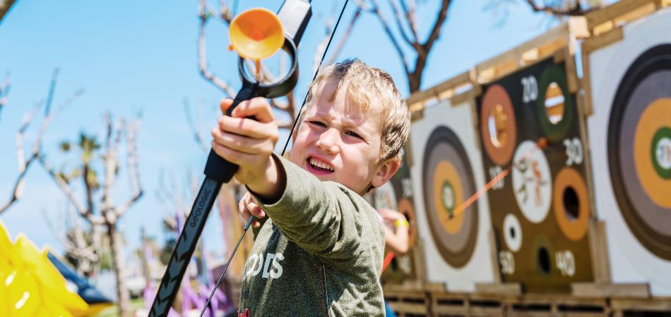 Kids in Archery Programs