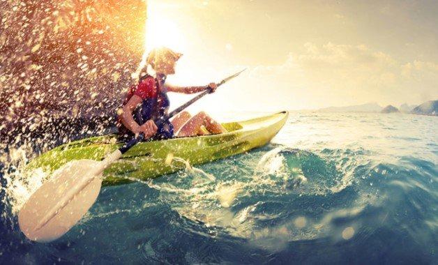 Maximum Speed of a Kayak
