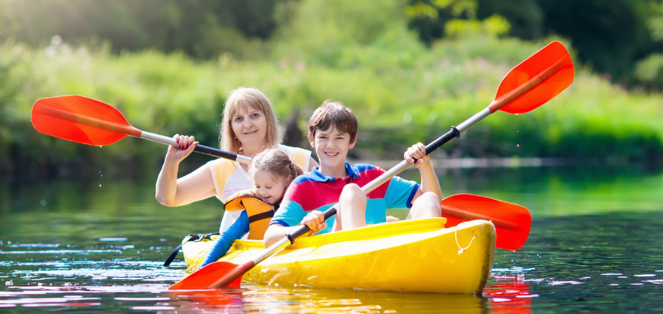 Parents When Kayaking With Kids