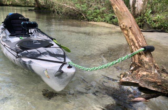 Secure Anchorage kayak