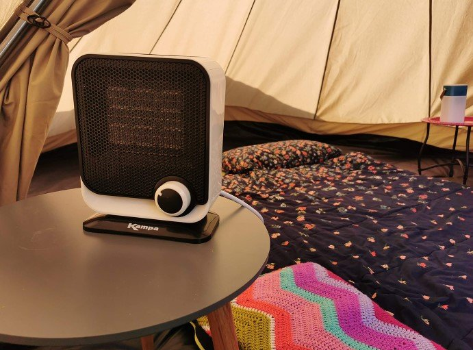 Tent Fans and Heaters