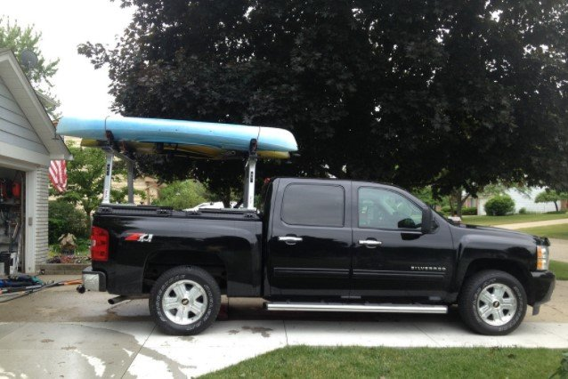 Transporting A Kayak In A Truck Bed
