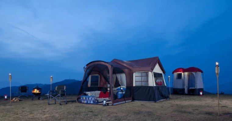 big tent for camping
