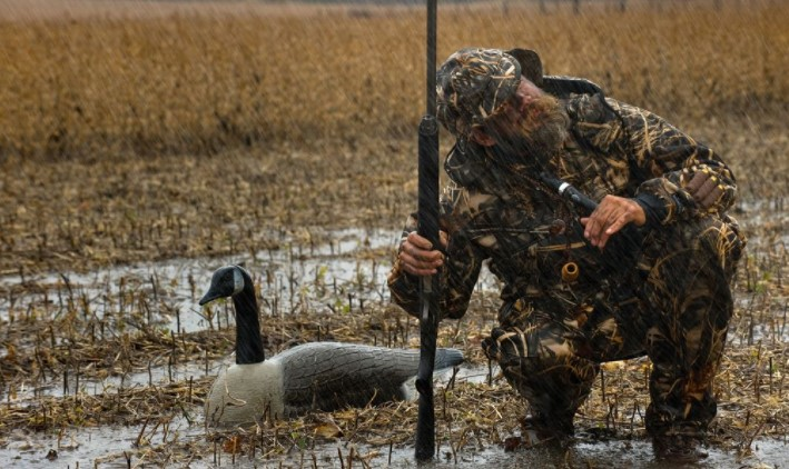 duck hunting good in the rain