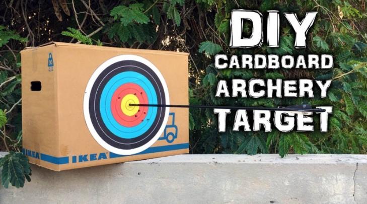 Cardboard Boxes Broadhead Target